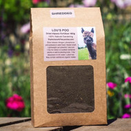 Lou's Poo, Dried Alpaca Fertiliser SHREDDED 400g