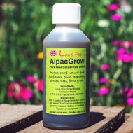 Lou's Poo Plant Feed Concentrate. AlpacGrow 250ml