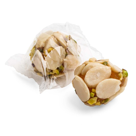PUMPKIN CANDY WITH ALMONDS AND PISTACHIOS