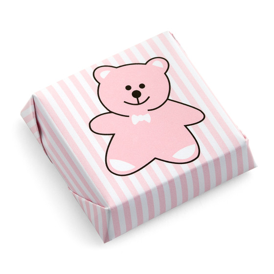Teddy Bear Chocolate Squares-Solid Milk 40%
