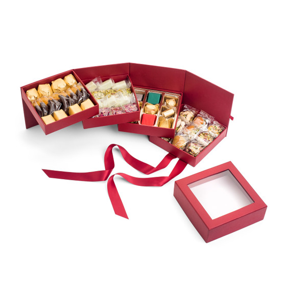 Four Tier Holiday Gift Box
