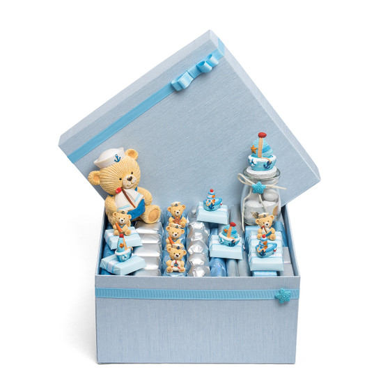 Nautical Theme Baby Boy Chocolate Box/Medium Size