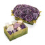 Mother's Day Chocolate flower Gift Box/Purple
