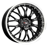 Drag Wheels DR-19 18x7.5 5x120 et42 Gloss Black rims