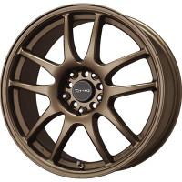 Drag Wheels DR-31 17x7 5x100 5x114.3 Rally Bronze Full rims