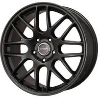 Drag Wheels DR-37 20X8.5 5/120 +20 offset Flat Black Full Mesh rims