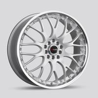 Drag Wheels DR-19 17x7.5 5x108 5x115 et42 Silver rims
