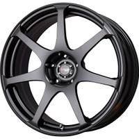 Drag Wheels DR48 19X8 5/120 Matte Black 7-Spoke rims