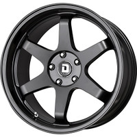 Drag Wheels DR53 19X9.5 +35 5/114 Matte Black Concave 6-spoke rims