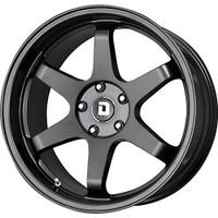 Drag Wheels DR53 19X9.5 +35 5/114 Matte Black Concave 6-spoke rims