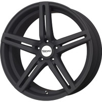 Drag Wheels DR60 20x10 5/114 +23 offset Matte Black 5-Spoke rims