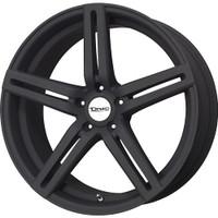Drag Wheels Dr-60 19x9.5 5/114.3 et20 73mm Flat Black Full Paint rims