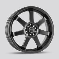 Drag Wheels DR35 18x7.5 5/100-114 gunmetal 7-Spoke rims