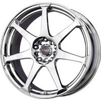 Drag Wheels DR33 18x7.5 5/100-114 Virtual Chrome 7-Spoke rims
