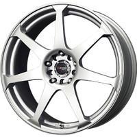 Drag Wheels DR33 17x7.5 5/108-115 Silver 7-Spoke rims