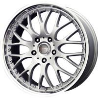 Drag Wheels DR19 17x7.5 5/120 Silver Mesh rims