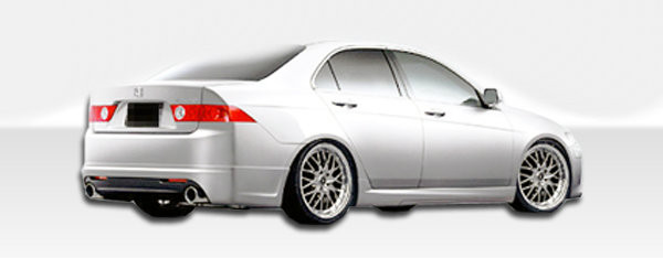 Free shipping on duraflex 04 08 acura tsx k 1 rear lip under 2004 2008 acura tsx duraflex k 1 rear lip under spoiler air dam sciox Image collections
