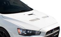 Duraflex 08-14 Mitsubishi Lancer / Lancer Evolution 10 Evo X Look Hood