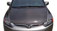 2006-2011 Honda Civic 4DR Carbon Creations OEM Hood