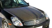 2003-2004 Infiniti G Sedan G35 Carbon Creations OEM Hood