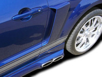 Couture 05-09 Ford Mustang CVX Side Scoop
