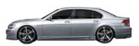 Couture 02-08 BMW 7-Series E66 Eros  V1 Side Skirts Rocker Panels