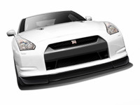 Aero Function 09-11 Nissan GT-R R35 AF-2 Front Add-On Spoiler CFP