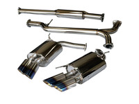 Tsudo Acura 2007-08 TL Type-S Dual SE Burnt Tip Catback Exhaust (20-9210-A)