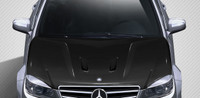 Carbon Creations 2008-11 Mercedes C Class W204 Black Series Look Hood