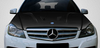 Carbon Creations 2012-14 Mercedes C Class W204 Black Series Look Hood
