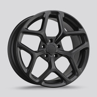 Drag Wheels Dr-64 20x10 5x114.3 Flat Black et42  Rims
