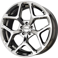 Drag Wheels Dr-64 20x10 5x120 Virtual Chrome et35 Rims