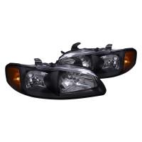 Junyan 00-03 Nissan Sentra Jdm Black Headlights 2lh-sen00jm-rs
