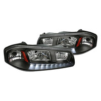 Junyan 00-05 Chevy Impala Led Black Headlights 2lh-ipa00jm-v2-rs