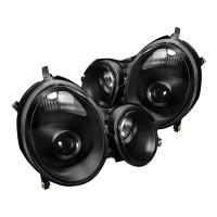 Junyan 00-02 Mercedes W210 E Class Black Projector lhp-bw21000jm-apc