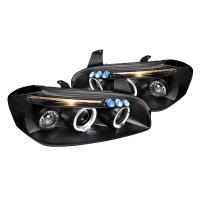 Junyan 00-01 Nissan Maxima Projector Black Headlights lhp-max00jm-tm
