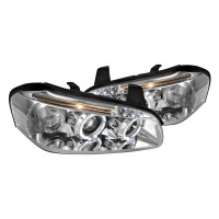 Junyan 00-01 Nissan Maxima Projector Chrome Headlights lhp-max00-tm