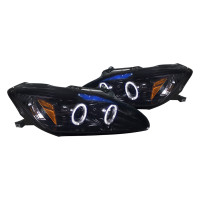 Junyan 00-03 Honda S2000 Projector Smoke Headlights 2lhp-s2k00g-tm