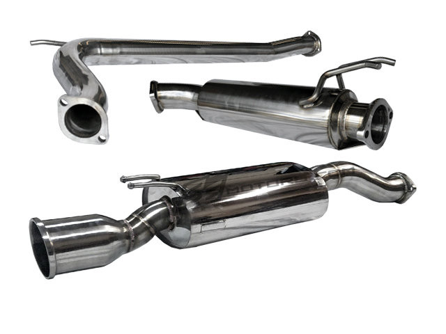 Tsudo 2007-10 K20 Civic Si 4dr HFP style 70mm JDM Catback Exhaust (20-9217)