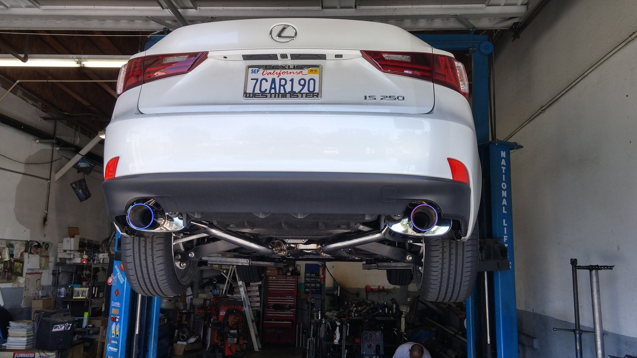 Tsudo is250 Catback exhaust