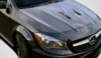 Carbon Creations 2014-2016 Mercedes CLA Class Black Series Look Hood - 1 Piece