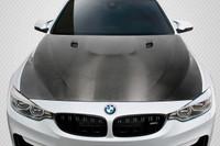 Carbon Creations 2014-2018 BMW M3 / M4 F80 / F82 / F83 DriTech E92 M3 Hood - 1 Piece