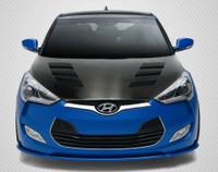 Carbon Creations 2012-2016 Hyundai Veloster Hyundai Veloster DriTech AM-S Hood - 1 Piece