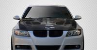 Carbon Creations 2006-2008 BMW 3 Series E90 4DR DriTech GTR 2 Hood - 1 Piece