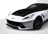 Carbon Creations 2014-2018 Chevrolet Corvette C7 DriTech Z06 Look Hood- 1 Piece