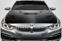 Carbon Creations 2012-2018 BMW 3 Series F30 / 2014-2018 4 Series F32 DriTech Victory Hood - 1 Piece