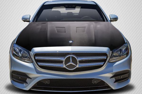 Carbon Creations 2014-2018 Mercedes E Class W212 DriTech Black Series Look Hood - 1 Piece