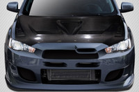 Carbon Creations 2008-2017 Mitsubishi Lancer / Lancer Evolution 10 Lancer DriTech Race Hood - 1 Piece