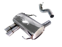 Tsudo BMW E90/92 328i/328ix 07-11 Rolled Tips Axle Back Exhaust. (20-9223)
