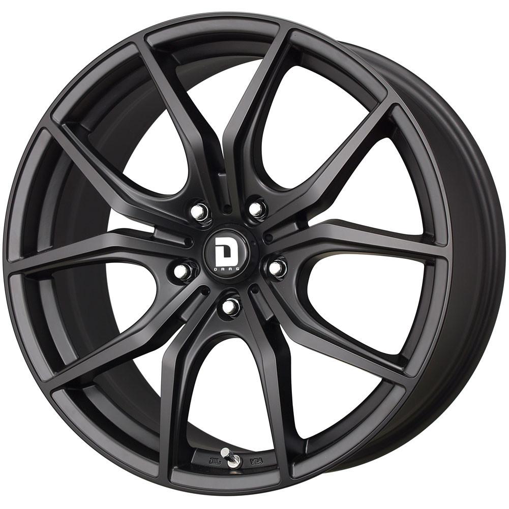 Drag Wheels Dr-67 19x8 5x112 Flat matte Black et32 Rims (DR67198213266BF1)